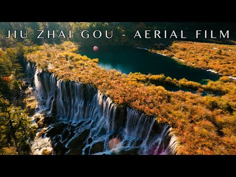 Mystical Jiu Zhai Gou, Central China - 4K Drone