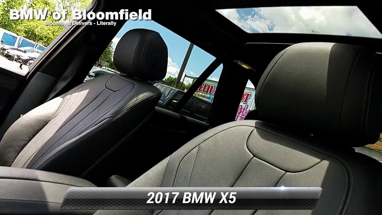Used 2017 BMW X5 xDrive35i, Bloomfield, NJ BB20S463T - YouTube