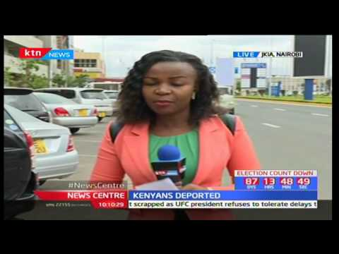Seven Kenyans deported from United States due to various different  offences