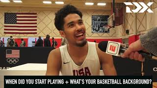 Johnny Juzang: 2018 USA Basketball Junior Minicamp Interview