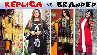 BRANDED vs REPLICA Fashion Dresses Explained on Eid Shopping Urdu Hindi