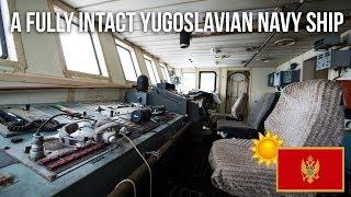 013 A fully intact Yugoslavian Navy Ship