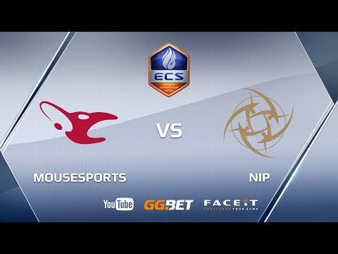 Mousesports vs NiP   ECS Season 5 Europe