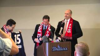 Tulsa announces USLPro Soccer Team