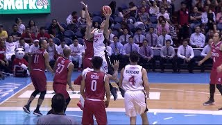 Jeron Tengs highlights against the Kia Picanto  PBA Philippine Cup 2018