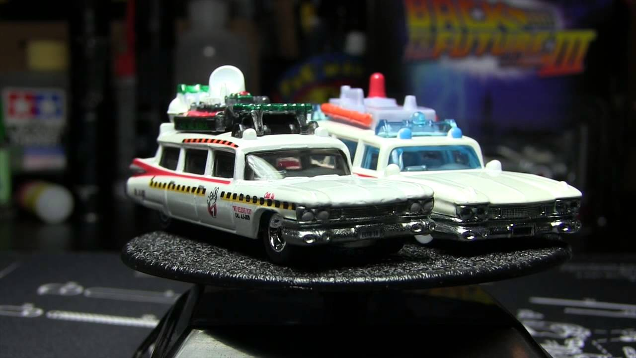 hot wheels retro entertainment  the real ghostbusters ecto cartoon
