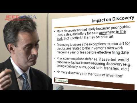 IEEE-USA: Michael Flibbert - Impact of U.S. Patent Reform on Patent Litigation