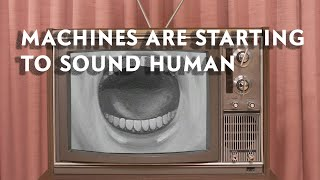 Machine learning is getting really good at copying the human voice