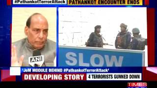 Our forces gave a befitting response in Punjab: Rajnath Singh