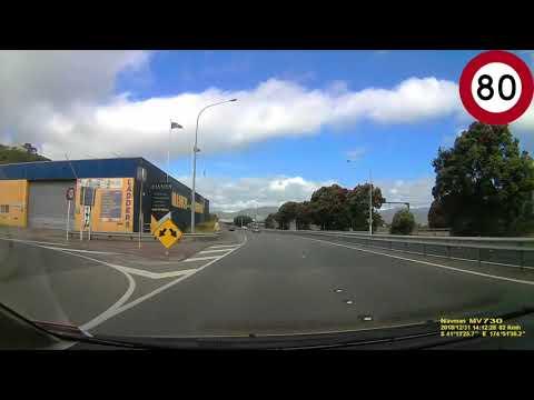 Wellington CBD to Lower Hutt, Wellington Drive via SH1 and SH2