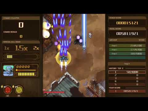 Angerforce: Reloaded stage 4 all enemies destroyed |
