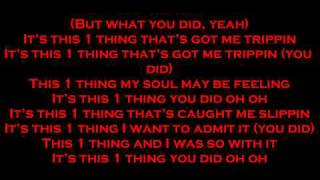 1 Thing-Amerie Lyrics Full Song By FashionDesignerlove