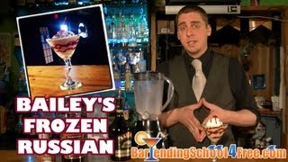 How To Make A Bailey's Frozen Russian (using Bailey's Irish Cream And Grey Goose Vodka)