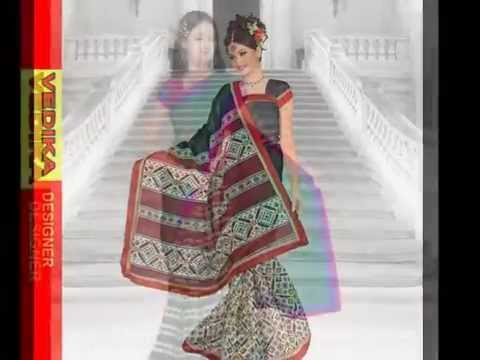 Vatika Fabrics Munga silk Catalog Sarees
