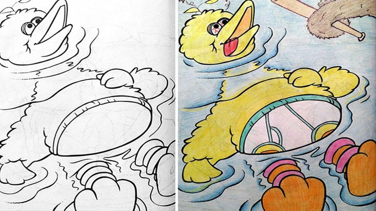 Desenhos Infantis Pintados Por Adultos Youtube
