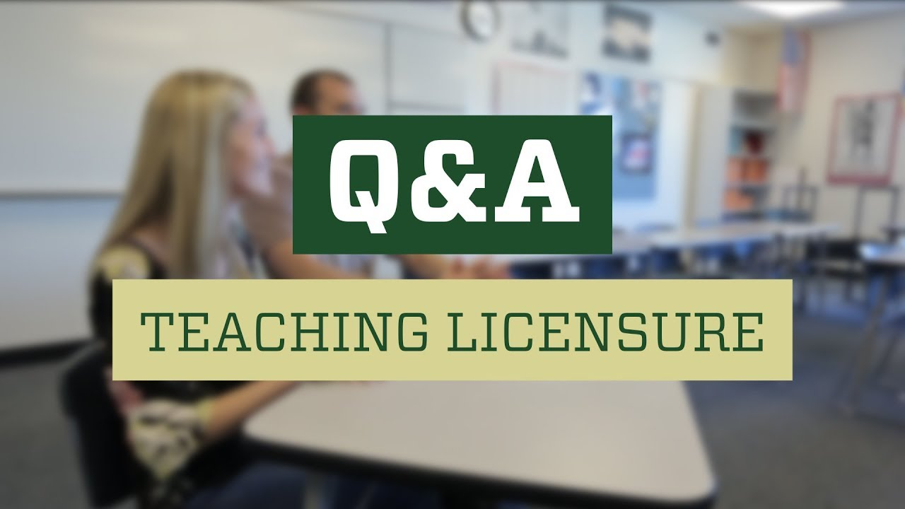 Teaching Licensure At Colorado State University Youtube