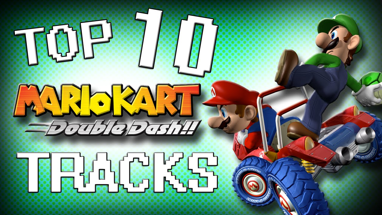 all mario kart double dash tracks