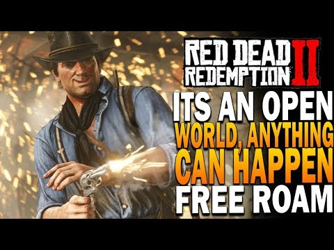 It's An Open World, Anything Can Happen - Red Dead Redemption 2 Free Roam thumbnail