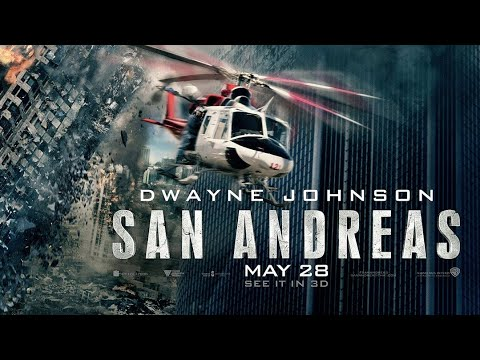 SAN ANDREAS -revision poster (private collection)|Photoshop tutorial|motionFX 2.0