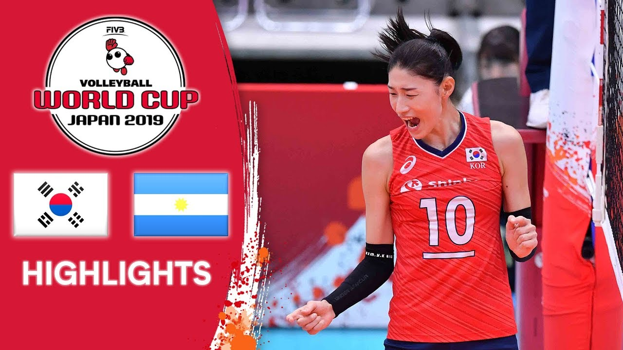 KOREA vs. ARGENTINA - Highlights   Women's Volleyball World Cup 2019
