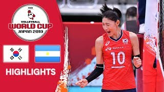 KOREA vs. ARGENTINA - Highlights | Women