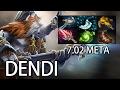 Magnus Solo Mid - Semi Carry By Dendi 7.02 Meta Dota 2 video