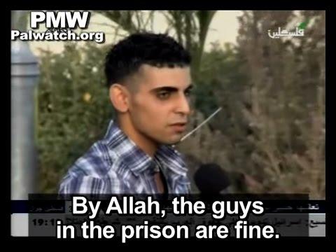 "Released Palestinian prisoner says prisoners ""lack nothing"" in Israeli prisons"