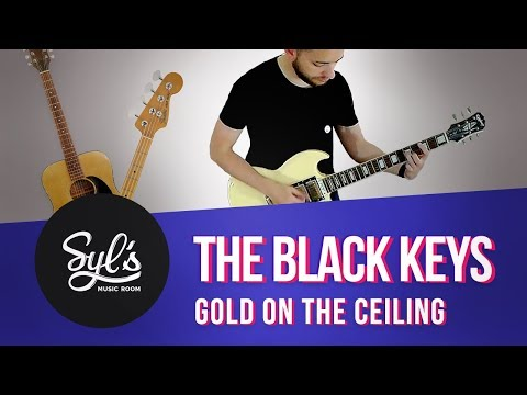 THE BLACK KEYS  - Guitar & Bass Instrumental Multitrack Cover - Gold On The Ceiling [017]