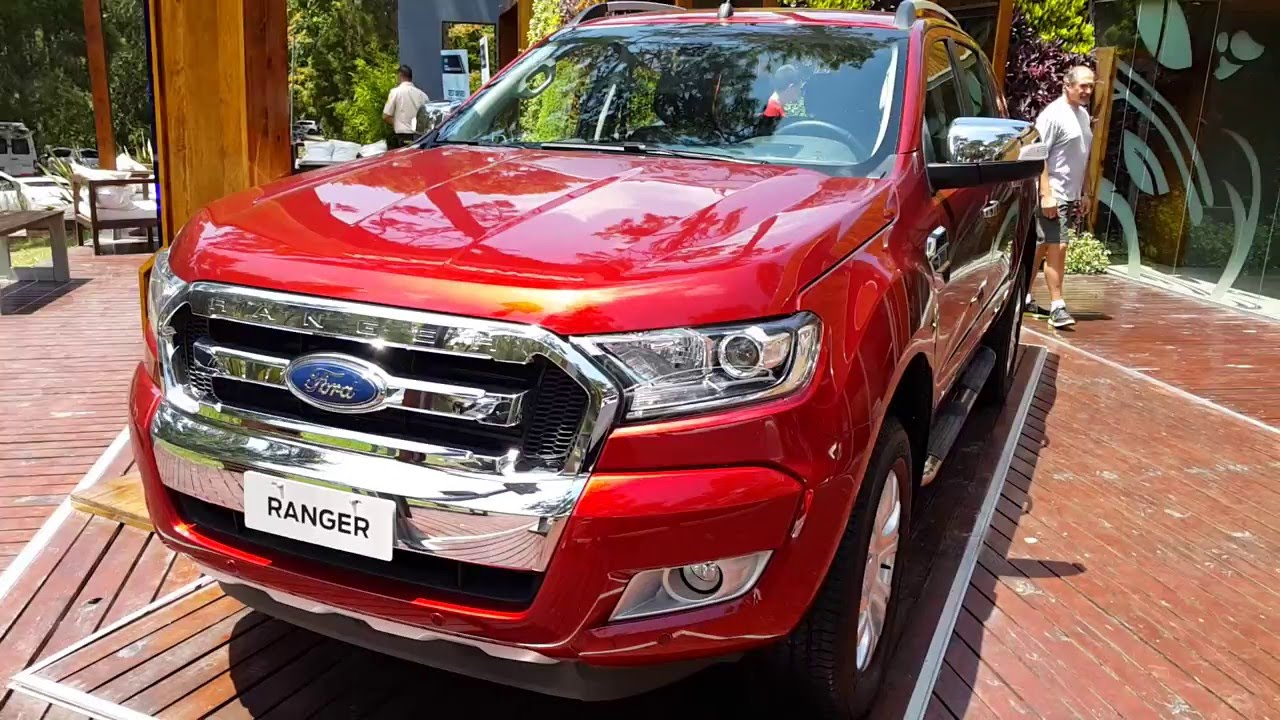Ford Ranger Tuning >> Nueva Ford Ranger 2016 Limited en Detalles - YouTube