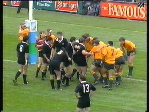 RWC 1991 Oz v NZ SemiFinal