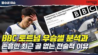 [분석] 손흥민의 전술적 역할이 달라졌다 [달수네 라이브]