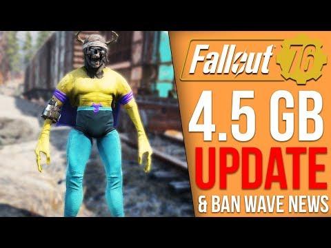 Fallout 76 Got a 4.5GB Update