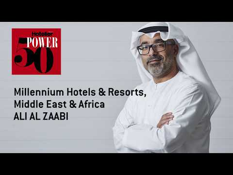 Power 50 2017: Millennium Hotels & Resorts CEO Ali Alzaabi