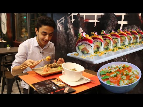 THE BEST SUSHI I HAVE EVER TASTED!! - Sushi Roll Restaurant Review