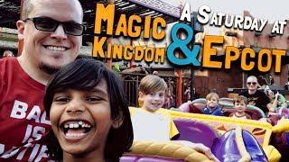 A Saturday at Walt Disney's Magic Kingdom & Epcot (February 17, 2018)