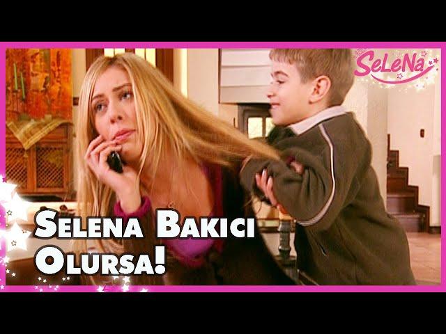 Selena bakıcı olursa!