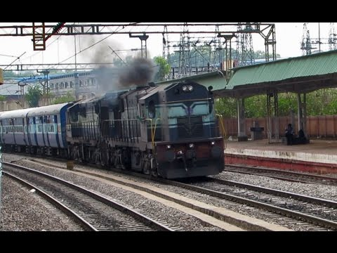Twin ALCO powered BANGALORE Superfast Express - Kacheguda Bengaluru