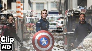 Iron Man Cap & AntMan Back To Past Scene Hindi  Back To 2012   Avengers Endgame  Movie Clip 4K HD Thumb