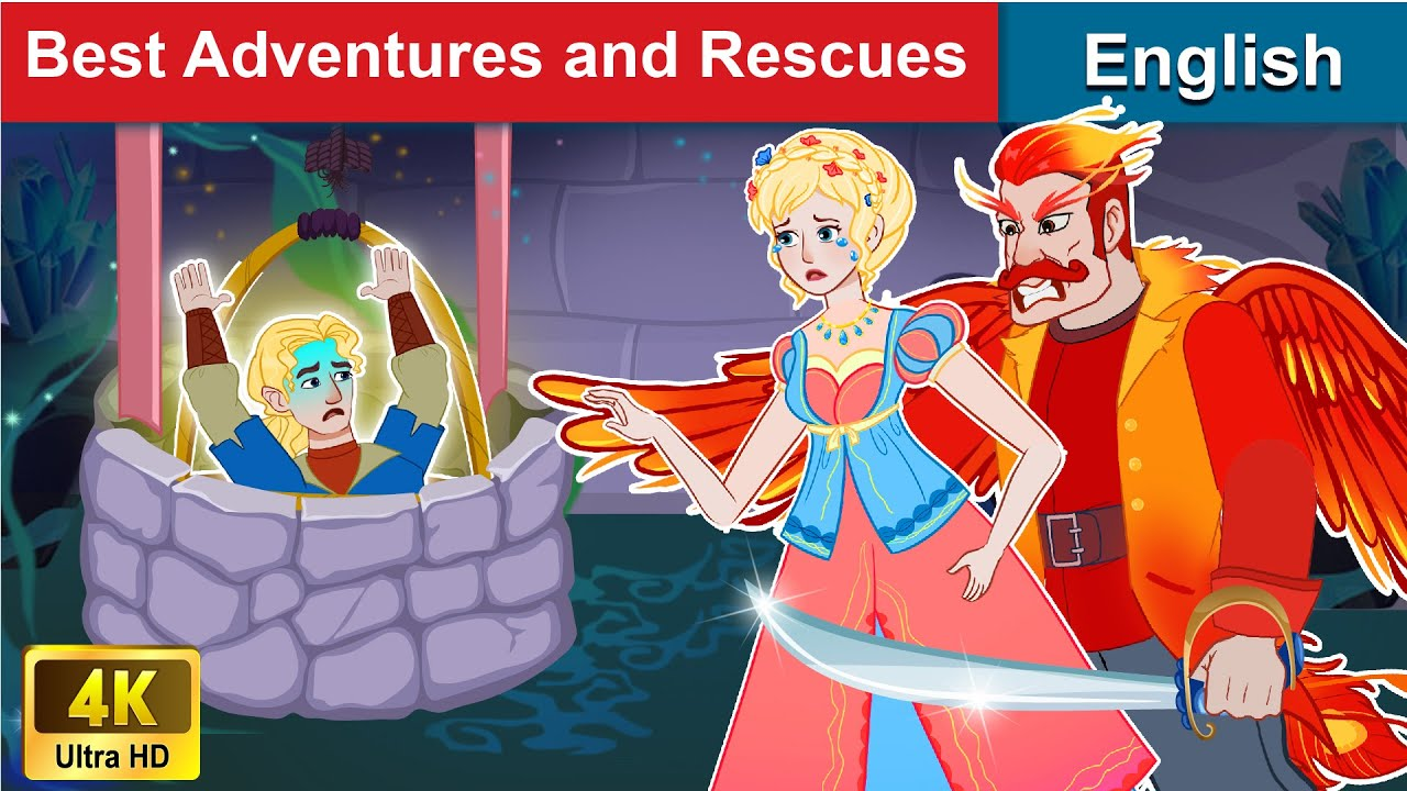 Best Stories of Adventures and Rescues 👸 Story in English | Stories For Teenagers | WOA Fairy Tales