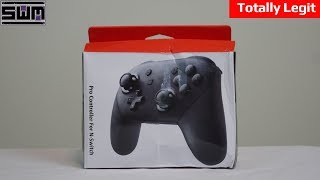 This Fake Switch Pro Controller Is Terrible