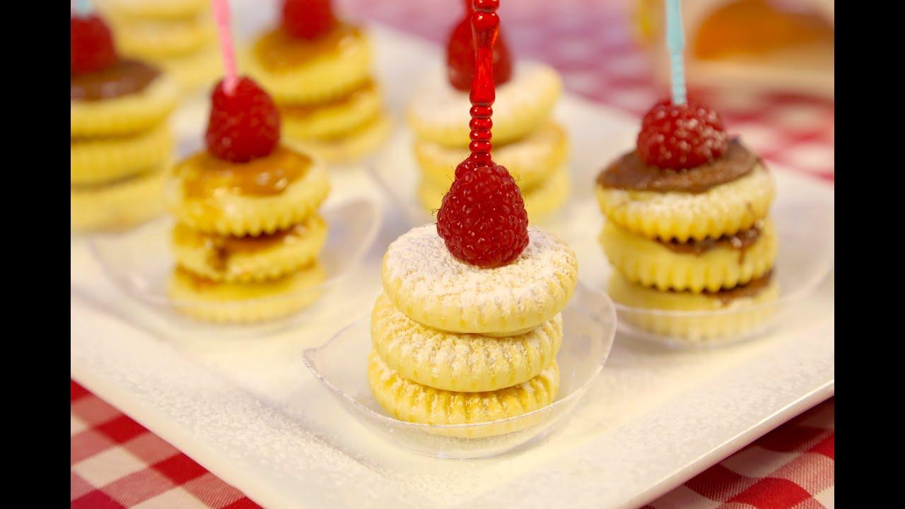 #وجبات_15_ثانية : ميني بان كيك - Mini Pancake