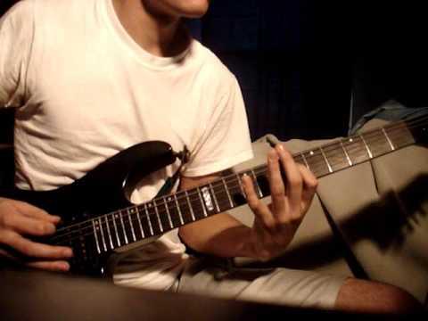 Escape The Fate - The Flood guitar cover