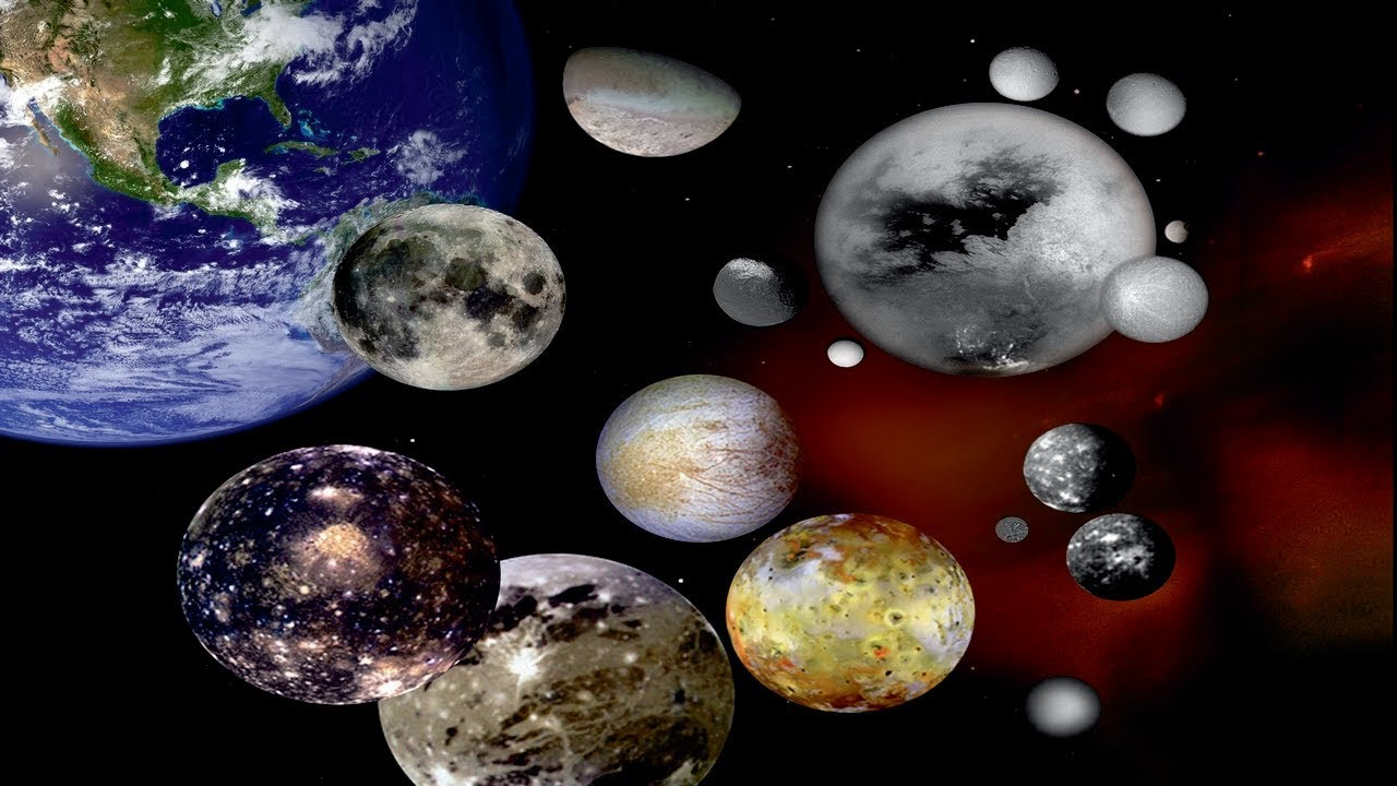 Explore The Solar System On Google Maps From Pluto To The Moons Of - Solar system map with moons