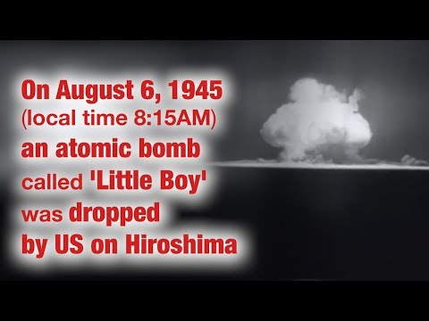 Today In History: US Carries Out Nuclear Bombings In Japan