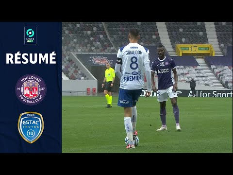 Toulouse Troyes Goals And Highlights