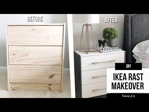 DIY IKEA RAST Nightstand Makeover - Furniture Hack