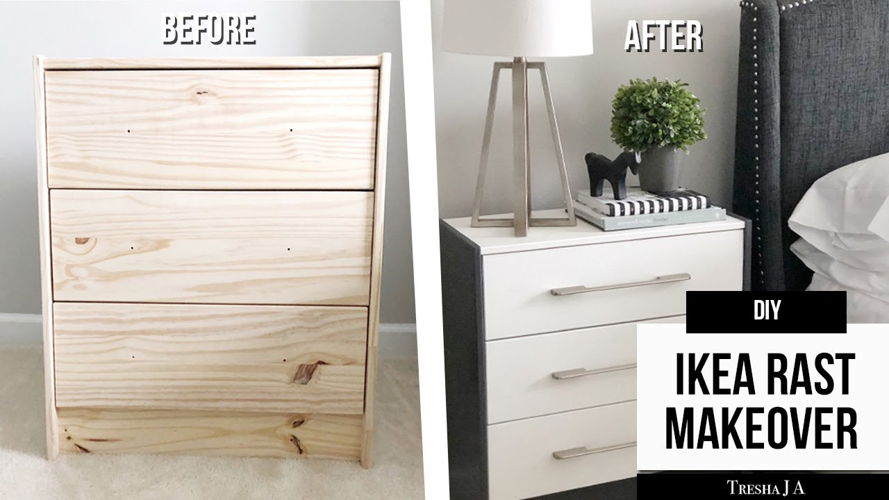 Diy Ikea Rast Nightstand Makeover