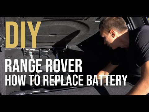 How to Replace the Battery on Range Rover 2013-2020 L405