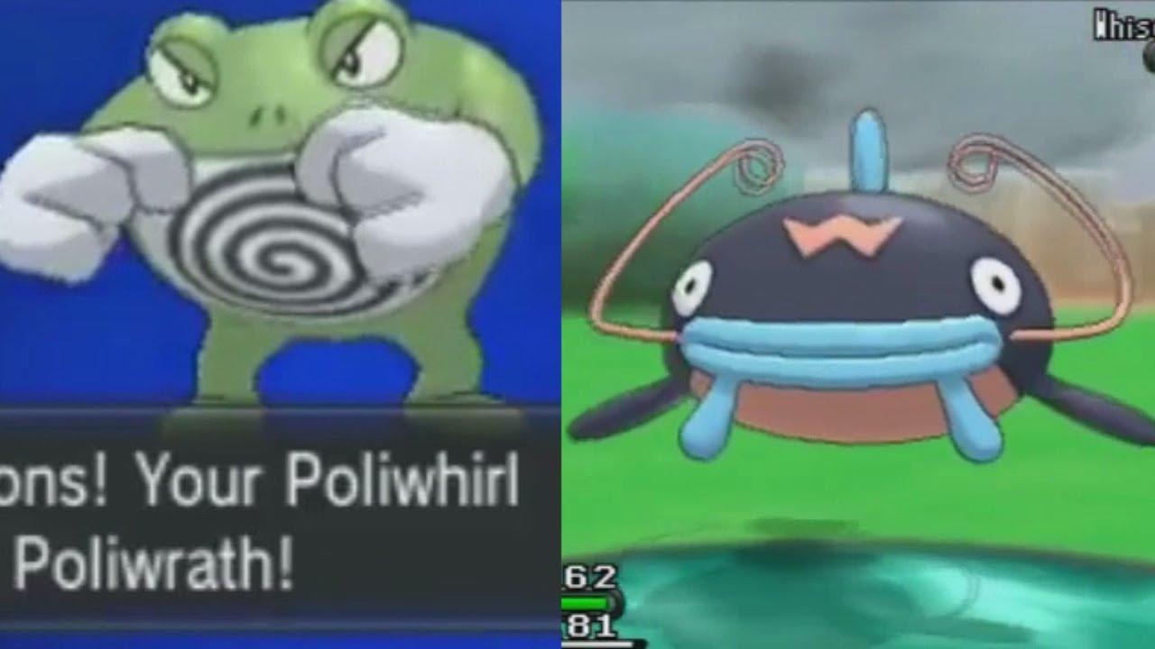 Poliwhirl Pokédex stats moves evolution amp locations