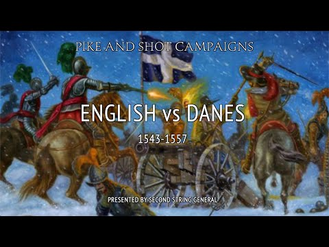 "2021-01 Pike and Shot   ""English vs Danes"" Part 1 of 3 